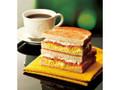 カフェ・ド・クリエ トーストサンド スモークサーモンとたまごサラダ
