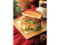 カフェ・ド・クリエ 2つのサンド ローストビーフとチーズポテト
