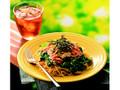 カフェ・ド・クリエ パスタ 房総産菜の花と桜えびのボンゴレビアンコ
