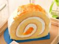 カフェ・ド・クリエ オレンジのロールケーキ