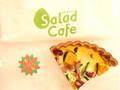 サラダカフェ 南瓜とほうれん草の野菜たっぷりキッシュ