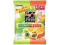 オリヒロ ぷるんと蒟蒻ゼリー マスカット+オレンジ 袋20g×12