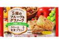 アサヒ クリーム玄米ブラン 5種のフルーツ&グラノーラ 袋2枚×2