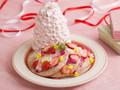 Eggs'n Things いちごと桜ホイップのパンケーキ
