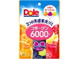 Dole 3つの実感果実グミ コラーゲン6000mg 袋73g