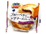 ヤマザキ ブルーベリージャム&レアチーズクリームパン 袋1個