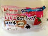 神戸屋 いちご&ホイップコロネ 袋1個
