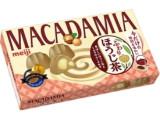 明治 マカダミア ふわりほうじ茶 箱63g
