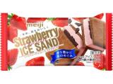 明治 ストロベリーチョコレートアイスサンド 袋75ml
