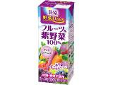 農協 野菜Days フルーツ&紫野菜 100% パック200ml