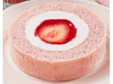 ローソン いちごづくしロールケーキ あまおう苺のせ
