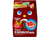 東ハト キャラメルコーン カカオ3種のまろやかチョコ味 袋85g