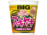 日清食品 カップヌードル スキヤキ ビッグ カップ98g