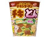 日清食品 チキンラーメンビッグカップ チキとん 鶏ガラペッパー豚骨味 カップ101g