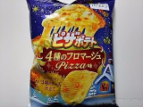 カルビー ピザポテト 4種のフロマージュPizza味 袋73g