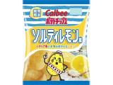 カルビー ポテトチップス ソルティレモン味 袋75g