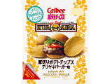 カルビー 厚切りポテトチップス テリヤキバーガー味 袋68g