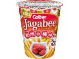 カルビー Jagabee 紀州の梅味 カップ38g