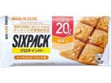 UHA味覚糖 SIXPACKプロテインバー キャラメルピーナッツ 袋40g