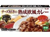 S&B チーズ好きの熟成欧風カレー 中辛 箱165g