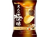 山芳製菓 ポテトチップス 大人の極味 ごま油と塩にんにく味 袋48g