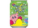 DyDo ぷるっシュ!! ゼリー×スパークリング メロンクリームソーダ 星のカービィパッケージ 缶280g