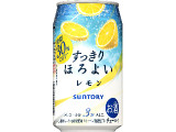 サントリー チューハイ すっきりほろよい レモン 缶350ml