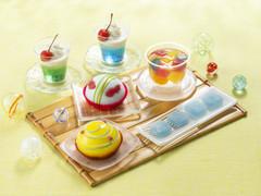 セブンが夏祭りスイーツフェア開催!「ラムネわらび」「金魚鉢みたいなケーキ」等6品