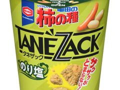 ザクザク食感がたまらない!「亀田の柿の種 タネザック のり塩」が登場