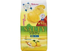 東ハト新作「ソルティ・塩レモン」!瀬戸内レモン×クリームチーズ♪