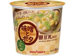 ポッカサッポロ 味噌とポタ まろやか豆乳仕立て