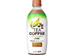 アサヒ TEA COFFEE カフェラテ×抹茶 微糖 ペット525ml