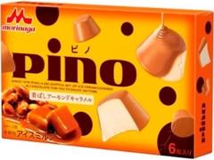 森永 ピノ 香ばしアーモンドキャラメル 箱10ml×6