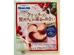 クラフト フィラデルフィア クリーミーマリアージュ ラズベリークリームチーズと贅沢チョコのマリアージュ 箱4個