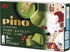 森永 ピノ 宇治抹茶 あずき仕立て 箱10ml×6