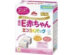 森永 E 赤ちゃん エコらくパック つめかえ用 箱800g