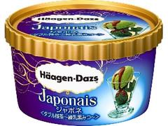 ハーゲンダッツ ジャポネ ダブル抹茶 練乳黒みつ カップ110ml