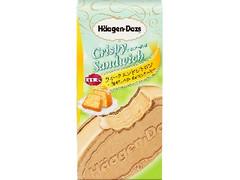 ハーゲンダッツ クリスピーサンド ウィークエンドシトロン 焦がしバターのレモンケーキ 箱60ml