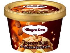 ハーゲンダッツ ミニカップ Decorations アーモンドキャラメルクッキー カップ88ml