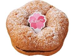 ミスタードーナツ 桜の花ドーナツ あずき
