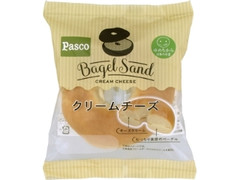 Pasco Bagel Sand クリームチーズ 袋1個