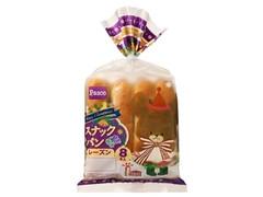 Pasco スナックパン レーズン クリスマスパッケージ 袋8本