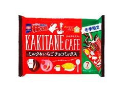 亀田製菓 亀田の柿の種 KAKITANE cafe ミルク&いちごチョコミックス 袋120g