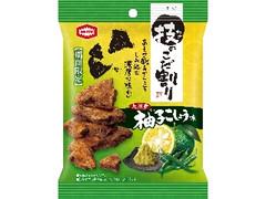 亀田製菓 技のこだ割り 柚子こしょう味 袋45g
