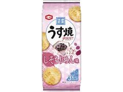 亀田製菓 うす焼グルメ しそちりめん味 袋75g