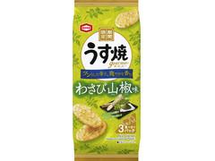 亀田製菓 うす焼グルメ わさび山椒味