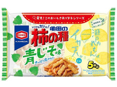 亀田製菓 亀田の柿の種 青じそ味×イカ天れもんミニ