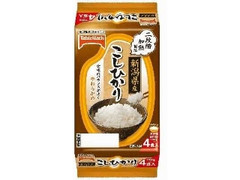 テーブルマーク 新潟県産こしひかり パック150g×4