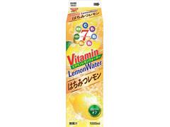 日清ヨーク ビタミンレモンウォーター はちみつレモン