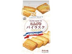 不二家 ホームパイ こんがりパイラスク シュガーバター 袋2枚×8